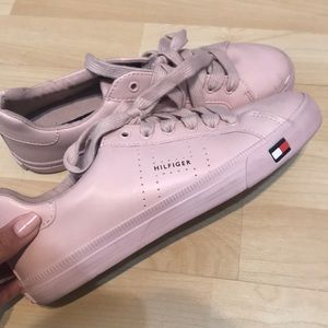 tommy hilfiger pink shoes